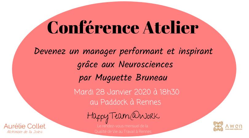 devenez un manager performant et inspirant grâce aux neurosciences - aurelie collet